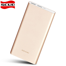Original Scud 20000mAh Power Bank Dual USB External Battery Charger Backup Universal For iPhone Samsung Xiaomi Cellphones Tablet(China)
