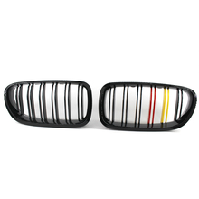 Gloss Black Front Kidney Grille for BMW F10 F18 535i 550i Sedan/Wagon M5 2010-17