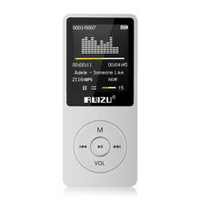 New Original RUIZU X02 HIFI Sport MP3 Player 8GB with 1.8Inch Screen can player 80Hours high quality lossless Recorder FM,E-Book(China)