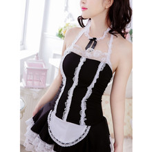 Buy Sexy lingerie sexy maid underwear lovely Female Maid classical Lace sexy miniskirt lolita maid outfit sexy costume sex products