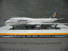 Out of print rare Inflight500 1: 500 Lufthansa 747-400 D-ABVA Alloy aircraft model Collection model Holiday gifts