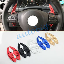 Steering Wheel Gear Shift Paddles Extension For VW Golf6 MK6 Passat B7 Tiguan Scirocco Eos R-Line GTI Accessories Parts