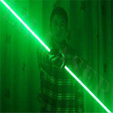 Mini Dual Direction Green Laser Sword For Laser Man Show 532nm 200mW Double-Headed Wide Beam Laser Double laser pen(China)