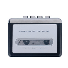 Hot sale USB Cassette Tape Converter Cassette to MP3 Audio capture Music Player Tape to PC Portable Cassette-to-MP3 Converter