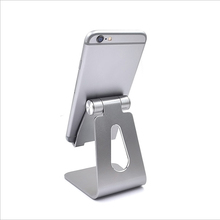 simple adjust the angle of view desktop aluminum Universal mobile phone stand holder for mobile phone/pad for iphone samsung LG