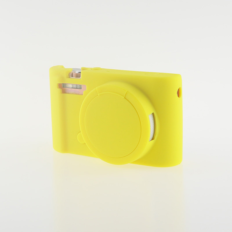 Soft Silicone Rubber Camera Bag Protective Body Case for Casio ZR5000 5500 5300-7