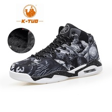K-TUO High Top Basketball Shoes Men Women Boots Breathable Non Slip Shoes Loves Sports Air Basketball Outdoor Sneakers KT-8001(China)