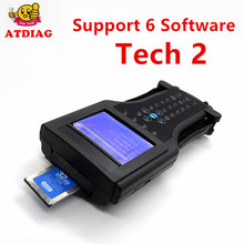 Good Quality for G-M TECH2 Full Set Support 6 Software (for G-M,for OPEL,SAAB ISUZU,SUZUKI,HOLDEN) for Tech2 + Candi(China)