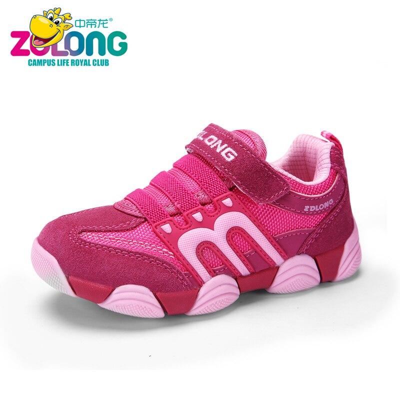 Girls Sneakers 2017 Fashion Design Sport Kids Chaussure Outdoor Schoenen School Trainers Trampki Children Shoes Running Sapato <br>