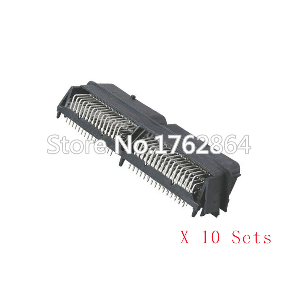 5 Sets 90 pin automotive computer Welded board Automotive computer control system with terminal DJ7901-1.5-10 90P connector<br>