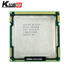 Intel Pentium G6950 Processor 2.8GHz 3MB Cache LGA1156 Dual-Core 73W Desktop CPU(China)