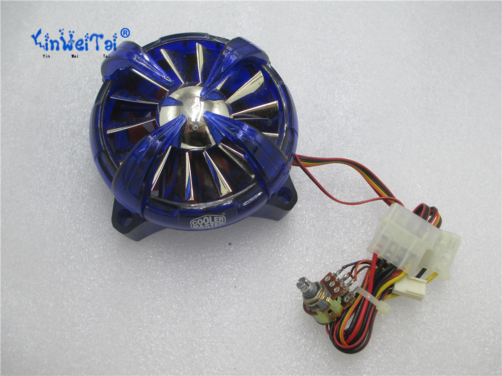 CPU Laptop Cooling Fan FOR COOLER A8040-30CB-4CA-B1 12V 0.75A SP804012H 80X80X40MM Speed control light CPU cooling fan<br>