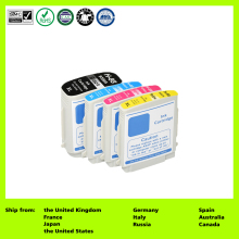 Compatible for 88XL C9396AE 88XL C9391AE 88XL C9392AE 88XL C9393AE (4-Pack) Ink Cartridge for HP Officejet Pro K550/K550dtn(China)