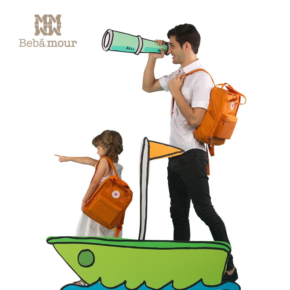 2018 Fashion Children School Bag Multifunctional Waterproof  Diaper Bag Backpack for Kids Baby Handbag<br>