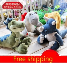 Nici plush toy stuffed doll jurassic period dinosaur three brother bedtime story baby christmas birthday gift 1pc free shipping(China)