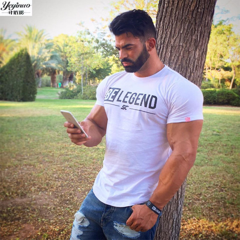 YEYINUO 2017 new fashion summer short sleeve men t shirt brand clothing cotton comfortable male t-shirt tshirt men clothing