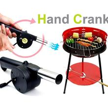 Outdoor Barbecue Hand Blower Barbecue Grill Tools BBQ FAN Combustion Device