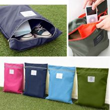 33x41CM Waterproof Shoes Bag Travel Storage Pouch Zipper Dust Nylon Portable