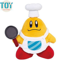"New Super Mario Cook Kirby Plush Doll Little Buddy Toy Cooking Chef Japan 8"" Anime Brinquedos Juguetes Baby Dolls"