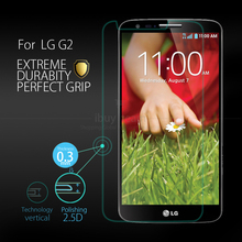 For LG G2 Tempered Glass Screen Protector Guard D802 VS980 Explosion-proof Screen Film 2pcs + Valid Tracking Number(China)