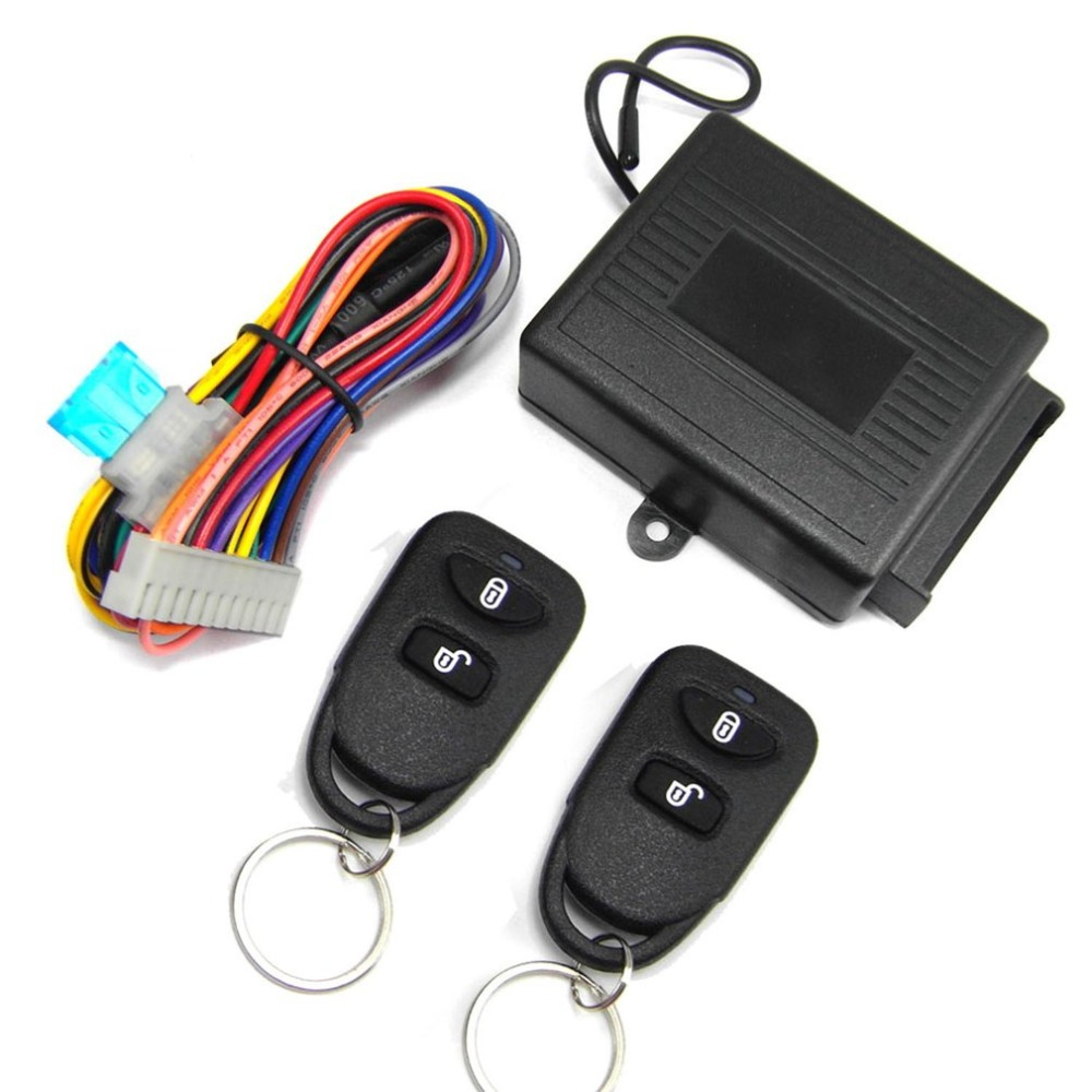 Central-Locking-Kit Door-Lock Trunk-Release-Button Entry-System Remote-Control KIA Keyless title=