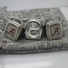 2015 Alabama Crimson Tide SEC FOOTBALL FINAL National Championship Ring 7-15 Size  Engraved Inside