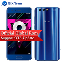 Global Firmware Huawei Honor 9 64GB 3D Curved Glass OTA Update LTE Smartphone Octa Core 2.3GHz 5.1 Inch 1920*1080 3200mAh 20MP(China)