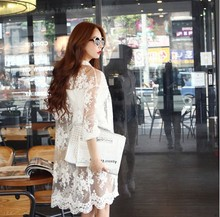 Summer the new bud silk organza sunscreen shawls long chiffon cardigan Bud silk coat is prevented bask in clothes   WJ152