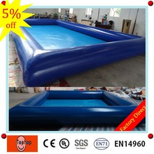 6*6m 0.7mm pvc tarpaulin manufacturing pool intex indoor german rectangular above ground inflatable bubble adult swimming pool(China)