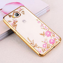 Buy Fundas Huawei Honor 4C Pro Case Silicone Soft TPU Back Cover Bling Clear Flower Phone Case Huawei Y6 Pro TIT-L01 Capas for $2.87 in AliExpress store