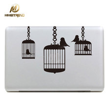 "Mimiatrend Bird Cage Laptop Decal for Apple Macbook Sticker Pro Air Retina 11""12"" 13"" 15"" Vinyl Mac Computer Cover Notebook Skin"
