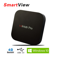 [Genuine] Wintel W8 Pro Mini PC Box with Windows 10 OS 2GB/32GB Smart Windows TV Box W8Pro with 2.4G Wifi BT4.0 Media player
