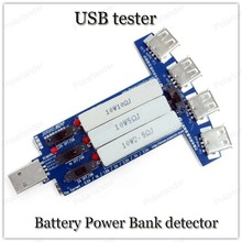 USB LCD Current Voltage Charger Capacity meter tester voltage USB multi-function charger head data line test tester(China)
