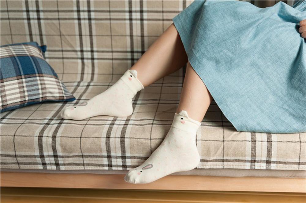 17 New Lovely Cartoon Women Socks High Quality Cotton Sox Japanese Fashion Style Socks Autumn Winter Warm Socks For lady Girls 14
