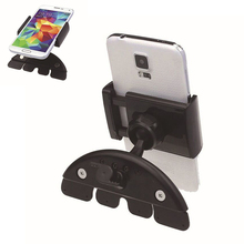telephone car cd holder for lg g3 iphone 6 plus 5c 360 degrees flexible CD mount holder for meizu m2 note support telephone car(China)