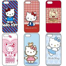 Hello Kitty Cute Cartoon Classic For Apple iPhone 4 4S 5 5C SE 6 6S 7 7S Plus 4.7 5.5 iPod Touch 4 5 6 Cellphone Transparent