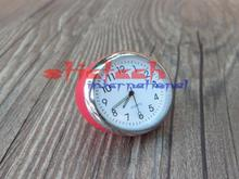 by dhl or ems 20pcs Car Mechanics Quartz Clock Mini Noctilucent Watch Digital Pointer for Auto Decoration Supplies(China)