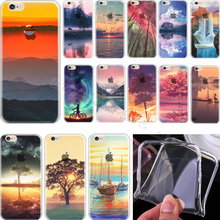 Elegant Soft TPU Cover For Apple iPhone 5 iPhone 5S SE iPhone5 iPhone5S Case Cases Phone Shell Painted Leisurely Sika Deer