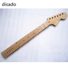 disado 22 Frets inlay dots maple fingerboard maple Electric Guitar Neck Guitar Parts accessories Wholesale can be customized