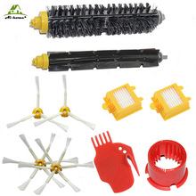 for iRobot Roomba 700 Series 760 770 780 790 Hepa Filters Bristle Brush Flexible Beater Side Brushes Cleaning Tool Accessory Kit