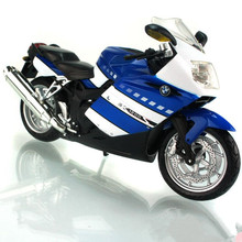 1:12 Diecast Motorcycle Model Toys K1200S Emulation Metal Motorbike Model Toy For Collection