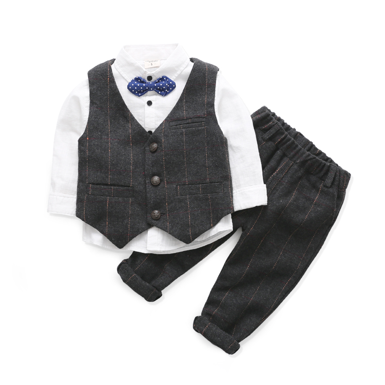 Baby vest suit two-piece childrens clothing 2016 new childrens autumn and winter childrens wool suit suit vest suit<br><br>Aliexpress