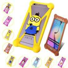 New Minions Sulley Minnie Hello Kitty Silicone Cases Case For Oppo Neo 3/Oppo Find 5 Mini/Oppo R2001 Yoyo Back Cover(China)