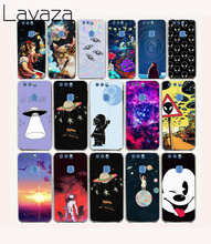 Lavaza 59O astronaut Space Aliens Hard fundas Case for Huawei Honor 8 lite P9 lite ( 2016 ) 4C 4X