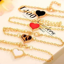 Hot new 2017 women's cheap official unlimited heart-shaped bracelet jewelry female jewelry accessories wholesale bracelet(China)