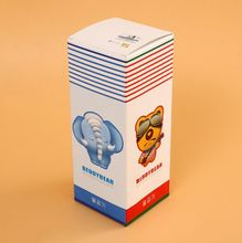Matte Drawer Paper Packaging Box With Ribbon Handle For Present Customized washing powder box packing ---DH12903(China)