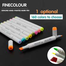 Promotion Price 1 PC 160 Colors Optional Double Headed Sketch Marker Pen Set Painting Sketch Art Copic Marker Pens