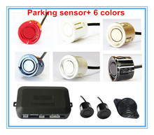 Car Parking Sensor Assistance Reverse Backup Radar Alarm Rearview system+Vehicle 2 Parking Sensors 3 step BIBI alarm Drop ship
