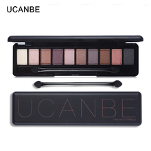 UCANBE Brand Matte Shimmer Shining Eyeshadow Palette Nude Makeup Glitter Naked Smoky Eye Shadow Mineral Sleek Pigment Powder