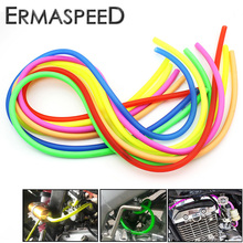 7 Colors 1M Motorcycle Fuel Hose Oil Tube Pipeline Rubber Line Universal for Motocross Dirt Bike ATV Racing Sport Bike Off Road